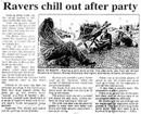 Ravers chill out after party - Evening Post, 3 January 1997