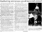 Gathering entrances good-natured crowd - Nelson Mail, 2 January 1997