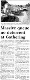 Massive queue no deterrent at Gathering - Nelson Mail, 1 January 1997