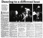 Dancing to a different beat - The Dominion, 13 December 1997