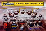 Suvival pack competition - Real Groove ad - December 1997