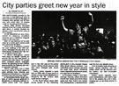 City parties greet new year in style - The Dominion, 1 January 1999