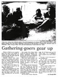 Gathering-goers gear up - Nelson Mail, 30 December 1998