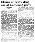 Claims of heavy drug use at Gathering party - Christchurch Press, 4 January 2001