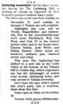 Gathering momentum - Christchurch Press, 22 December 2000