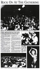 Rock on at the Gathering - Evening Post, 2 January 2001