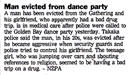 Man evicted from dance party - Evening Post, 3 January 2001