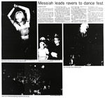 Messiah leads ravers to dance fest - Nelson Mail, 1 January 2001