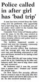 Police called in after girl has 'bad trip' - Nelson Mail, 2 January 2001