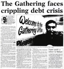 The Gathering faces crippling debt crisis - Nelson Mail, 3 February 2001