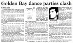 Golden Bay dance parties clash - Nelson Mail, 4 November 2000