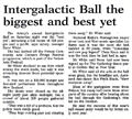 Intergalactic Ball the biggest and best yet - Nelson Mail, 11 September 2000
