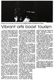 Vibrant arts boost tourism - Nelson Mail, 12 October 2000