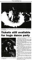 Tickets still available for huge dance party - Nelson Mail, 26 December 2000