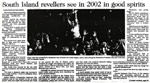 South Island revellers see in 2002 in good spirits - Christchurch Press, 2 January 2002