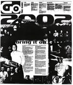 Bring it on; what's happening New Year's Eve - Christchurch Press, 27 December 2001