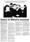 Dawn of Minuit's success - Nelson Mail, 12 September 2002