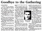 Goodbye to the Gathering - Nelson Mail, 20 July 2002