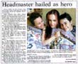 Headmaster hailed as hero - Nelson Mail, 4 January 2000
